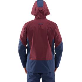 Haglöfs Nengal Jacket Men Aubergine/Tarn Blue